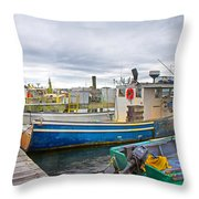 Newport Rhode Island Harbor IIi Throw Pillow