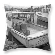 Newport Rhode Island Harbor Iv Throw Pillow