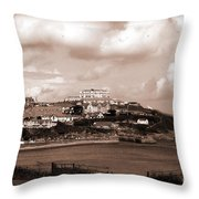 Newquay In Cornwall Throw Pillow