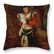 News From Home Throw Pillow