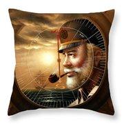 Imperishable Map Captain 1  Throw Pillow