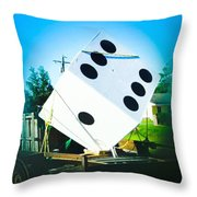 Next Time I'm Bringing My Own Dice Throw Pillow