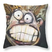 Next Time Try Decaf Throw Pillow