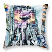 Nfl Experience 2015 Throw Pillow