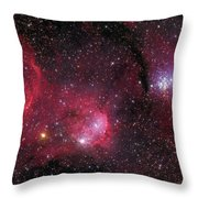 Ngc 3293, The Gem Cluster And Gabriela Throw Pillow