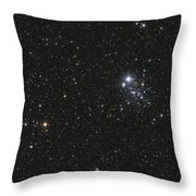 Ngc 457, The Owl Cluster Throw Pillow