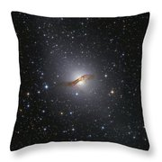 Ngc 5128 Radio Galaxy Throw Pillow