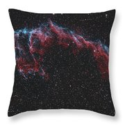 Ngc 6992, The Eastern Veil Nebula Throw Pillow