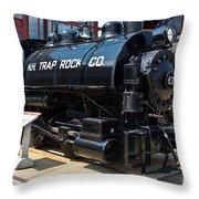 N.h. Trap Rock Co. 43 Throw Pillow