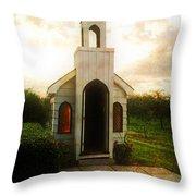 Niagara Church Throw Pillow