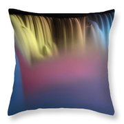 Niagara Color Throw Pillow