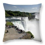 Niagara Falls - New York Throw Pillow