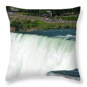 Niagara Falls 10 Throw Pillow