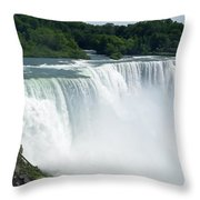 Niagara Falls 12 Throw Pillow