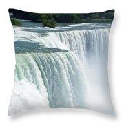 Niagara Falls 3 Throw Pillow