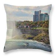 Niagara Falls 4039 Throw Pillow
