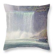 Niagara Falls 4050 Throw Pillow