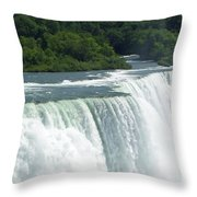 Niagara Falls 8 Throw Pillow