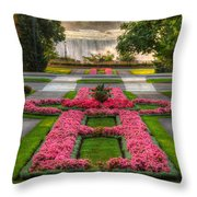 Niagara Falls Botanical Gardens Ontario Canada Throw Pillow