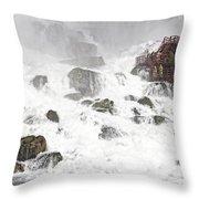 Niagara Falls Overlook Two Throw Pillow