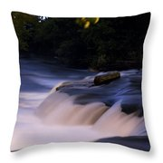Niagara Falls Three Throw Pillow