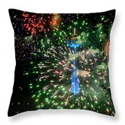 Niagara Fireworks 1 Throw Pillow