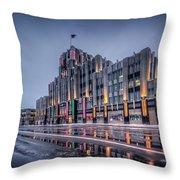 Niagara Mohawk Syracuse Throw Pillow