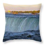 Niagara Panoramic Throw Pillow
