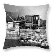 Niagara Port Throw Pillow