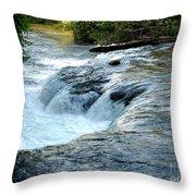 Niagara River Rapids Above Niagara Falls 2 Throw Pillow