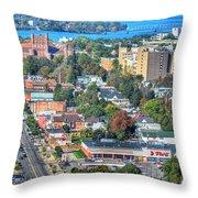 Niagara Street Autumn 2013 Throw Pillow