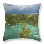 Niagara Whirlpool Throw Pillow