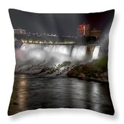 Niagra Falls Throw Pillow
