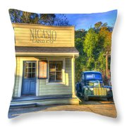 Nicasio Land Company Throw Pillow by Alberta Brown Buller