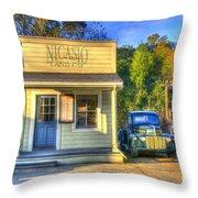 Nicasio Land Company Throw Pillow