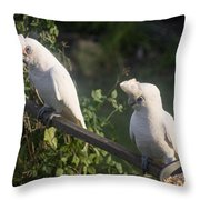 Nice Day Throw Pillow