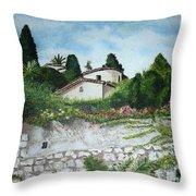 Nice- France Throw Pillow