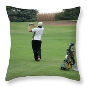 Nice Swing Throw Pillow