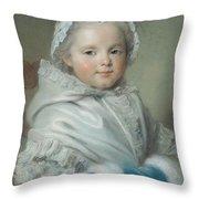 Nicole Ricard Pastel Throw Pillow