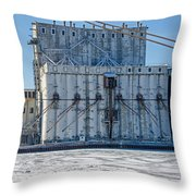 Nidera Storage 2 Throw Pillow