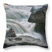 Nigel Creek Cascades Throw Pillow