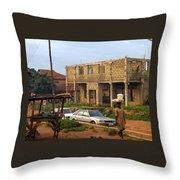 Nigerian Woman Throw Pillow