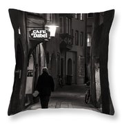 Night Appointment Throw Pillow