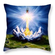 Night At The Cape Throw Pillow
