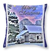 Christmas Card 28 Throw Pillow