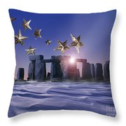 Night Cometh Throw Pillow