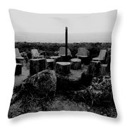 Night Council Throw Pillow