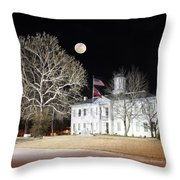 Night Court Throw Pillow