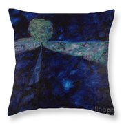 Night Drive 1 Throw Pillow