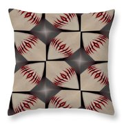 Night Game Throw Pillow